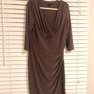 Ralph Lauren Brown Dress